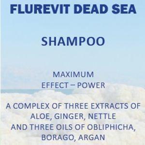 Шампунь «Максимум эффекта и энергии» c флуревитами и минералами Мертвого моря